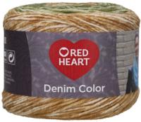 Red Heart Denim Color -00001