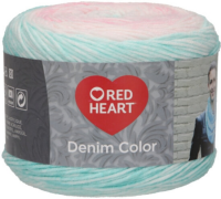 Red Heart Denim Color -00004
