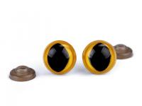 Ochi de pisică pentru jucării cu dispozitiv de siguranță, Ø14 mm