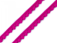 Bandă cu ciucuri, lățime 11 mm-pink