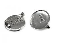 Bază broșă cu platou, Ø19 mm