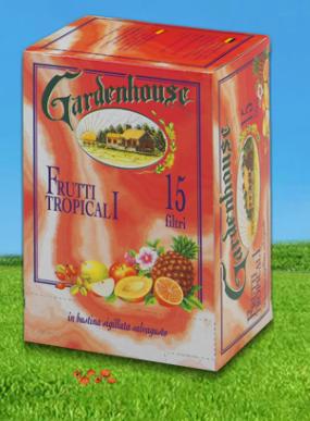 ceai fructe tropicale