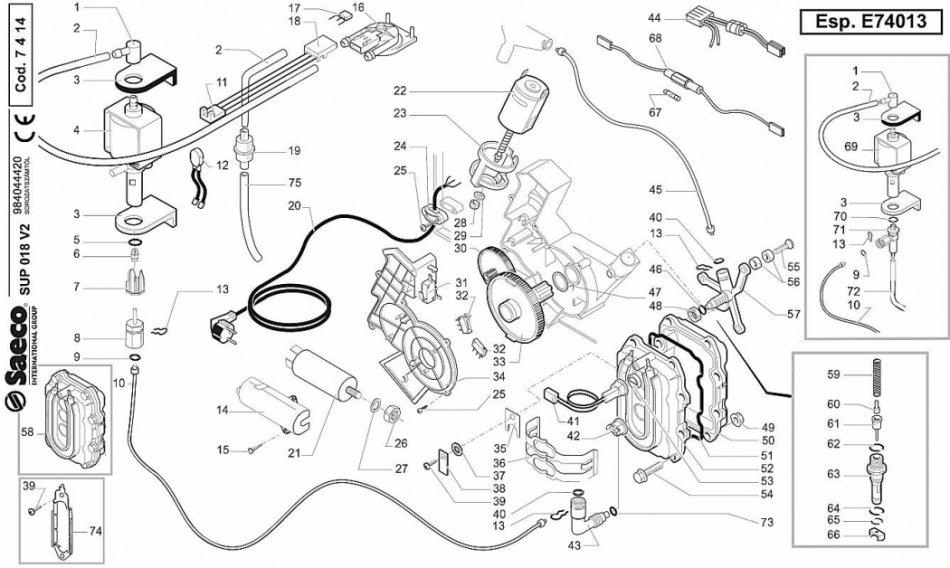 Boiler Aluminiu-Componente