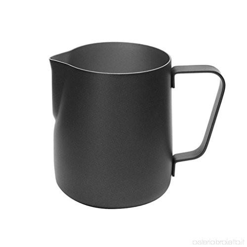 Latiera Inox, Negru, 450 ml, Noelcafe