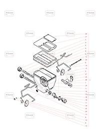 Container Dublu - Componente