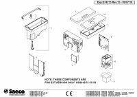 Carcasa Componente - Incanto HD8919-51-55-59