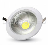 10W LED COB Downlight Reflector Corp Alb - 3000K