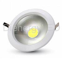 10W LED COB Downlight Rotund A++ 120Lm/W 3000K - Nou