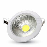 40W LED COB Downlight Rotund A++ 120Lm/W 4500K - Nou