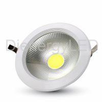 30W LED COB Downlight Rotund A++ 120Lm/W 3000K - Nou