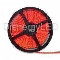 Neon Flexibil 3Y,4x10 140LED/M,12W/M,24V Lumina Rosie
