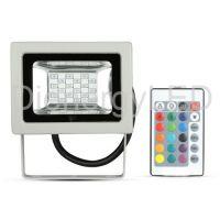 10W Proiector LED RGB cu Telecomanda RF SMD - Nou