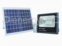 Proiector LED Solar 16W cu Panou Individual,Lumina Naturala(4000K)