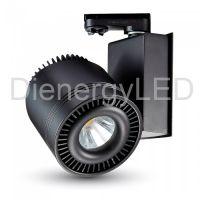 45W LED COB CRI>95 Proiector Sina Corp Negru 5000K