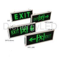 Lampă LED emergență EXIT 1 FATA