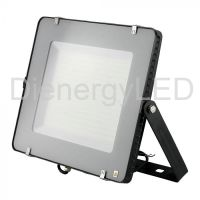 LED Floodlight SMD SAMSUNG Chip 300W  Slim Black Body 6400K 120 lm/Watt