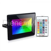 Proiector LED RGB 50W cu Telecomandă, IP66