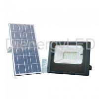 Proiector LED Solar 12W cu Panou Individual,Lumina Naturala(4000K)
