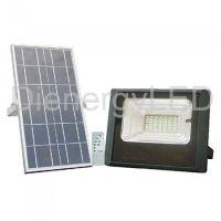 Proiector LED Solar 12W cu Panou Individual,Lumina Rece(6000K)