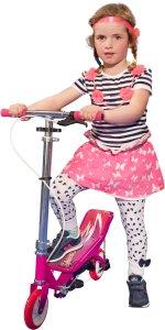 SpaceScooter Junior Pink 1