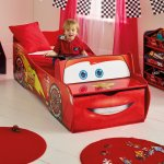 452LMNLead LifestyleDisney Cars Lightning McQueen Toddler Bed