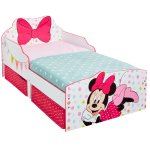 509MTMLead Product ImageMinnie Mouse Toddler Bed with underbed storage