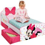 509MTMLead Product ModelMinnie Mouse Toddler Bed with underbed storage