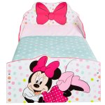 509MTMProduct FeatureMinnie Mouse Toddler Bed with underbed storage