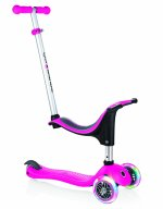 TROTINETA GLOBBER EVO 4 IN 1 LIGHTS ROZ