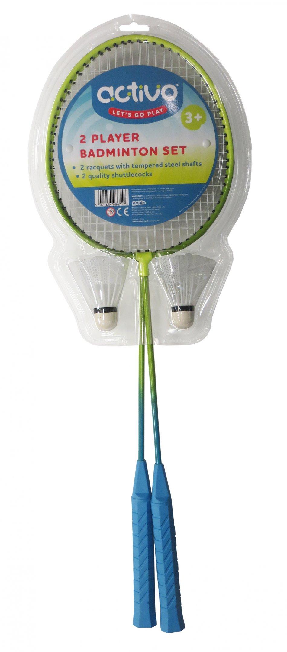 8671 2 Player Badminton Set