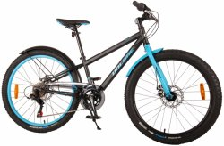 Bicicleta E&L Rocky 24 inch 6 viteze, albastra