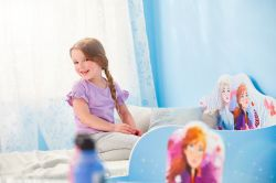 Pat Disney Frozen MDF cu spatiu depozitare