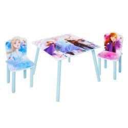 Masuta si scaun Disney Frozen