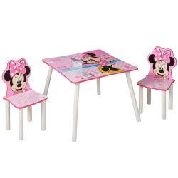 Masa si scaun Minnie Mouse
