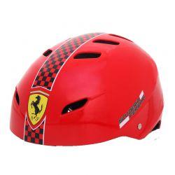 Casca protectie Ferrari, marimea S, culoare rosie