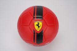 Mingie de fotbal Ferrari, marimea 5, rosie