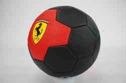 Mingie de fotbal Ferrari, marimea 5, rosu / negru