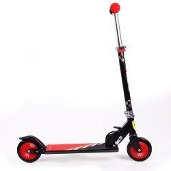 Trotineta pliabila Ferrari pentru copii cu roti 120 mm, neagra