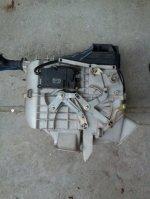 Radiator caldura  motorase  actuatoare  carcasa aeroterma pentru Honda Civic 1997  2005 (2)