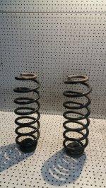 Arcuri Suspensie Spate + Flanse Cauciuc Skoda Octavia Mk1 1996-2010