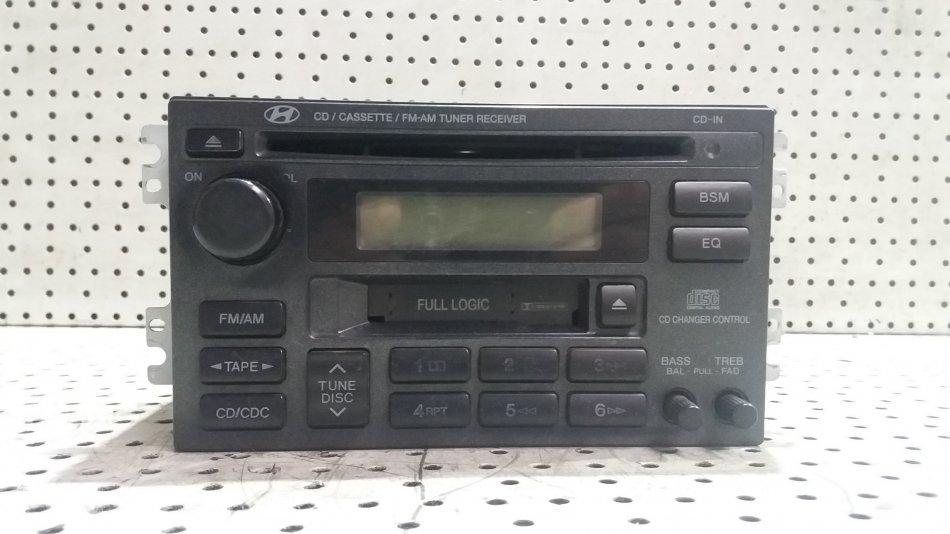 Radio  Casetofon MONSOON AM  FM  CD PLAYER Hyundai Santa Fe 20002006 (1)