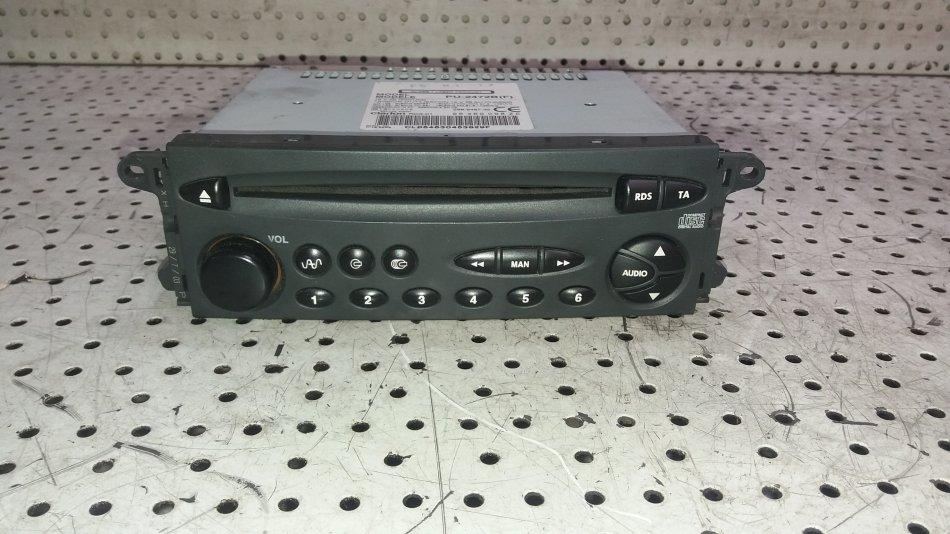 Radio  CD Player  Mp3 Citroen C5 2.0 HDI 110kw RHZ 20002007 (4)
