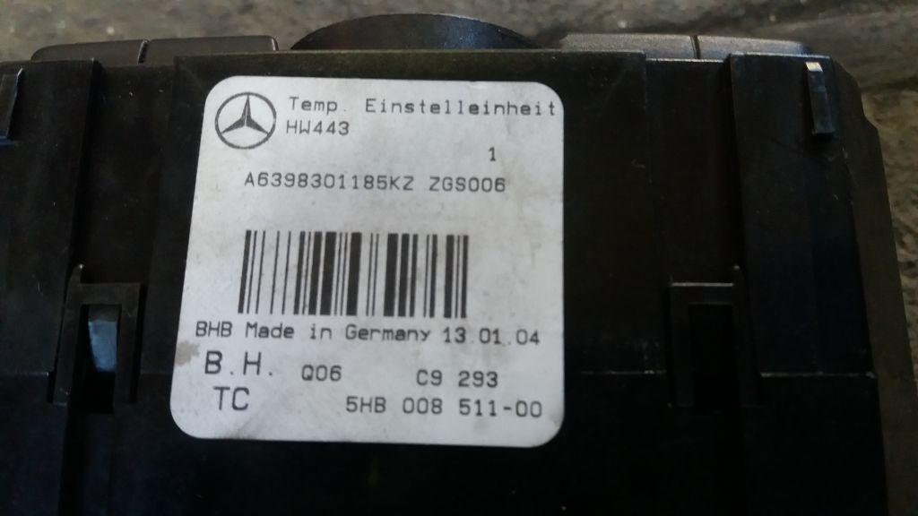 Panou Clima Mercedes Vito W639 20032014 (3)