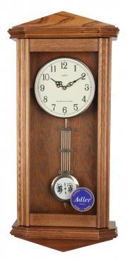 Pendula de perete Adler cu 3 melodii 7130-2 Stejar 59x23 cm
