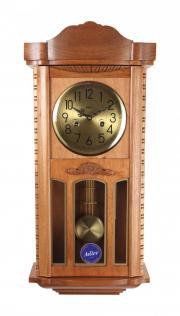Ceas de perete mecanic Adler 7102-2 Stejar