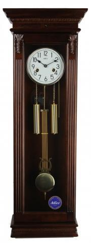 Ceas de perete cu pendul, mecanic Adler 7100-1 Nuc , 100 cm