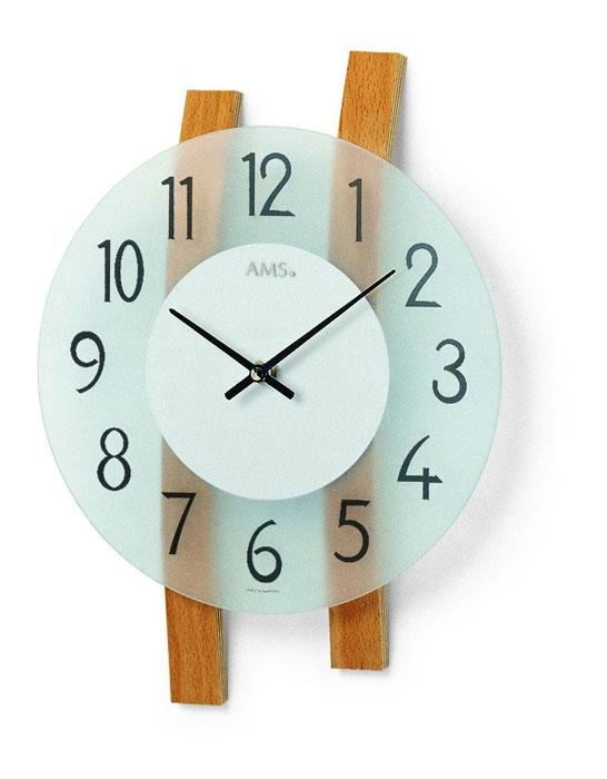 Ceas de perete AMS 9203, 32x23cm