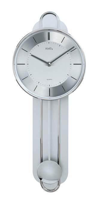 Ceas cu pendula AMS 7316, 54x20 cm