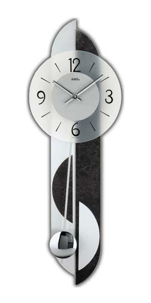 Ceas de perete AMS 7299, 69x23 cm
