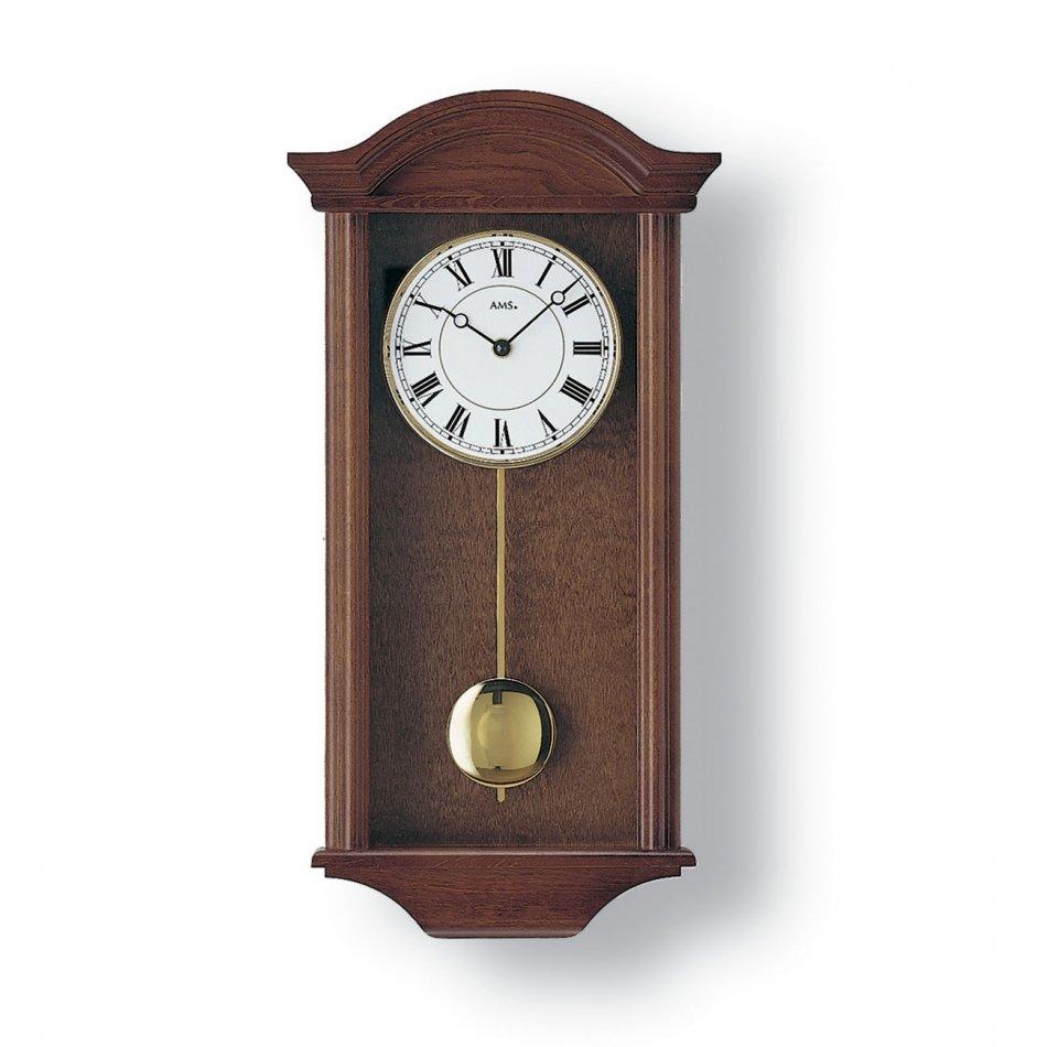 Ceas de perete cu pendul AMS 990-1